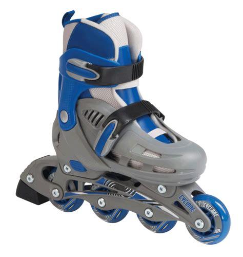 Inline Skate sfr cyclone adjustable inline skates blue
