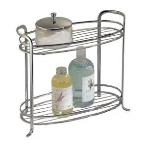 bathroom countertop organizer bath tower two shelf in bathroom organizers
