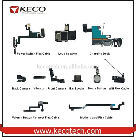 Sparepart Iphone 6 Mobile Phone Spare Parts Mobile Phone Spare Repair Parts For Iphone Mobile Phone Wholesale For