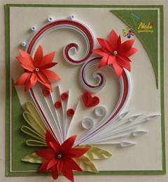 neli quilling quilling paper filigree quilling handmade greetings and