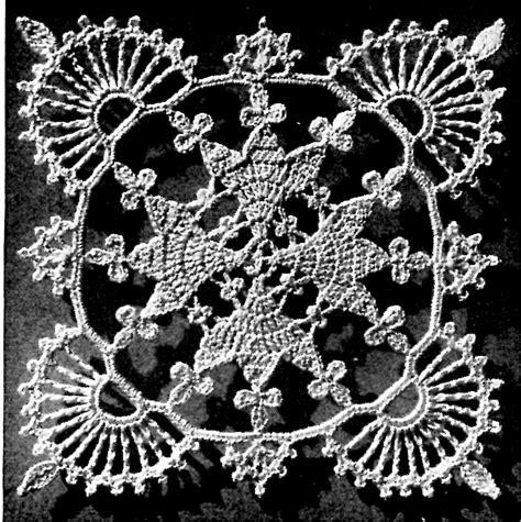 pattern motif crochet vintage crochet pattern lace valentine bedspread vintage