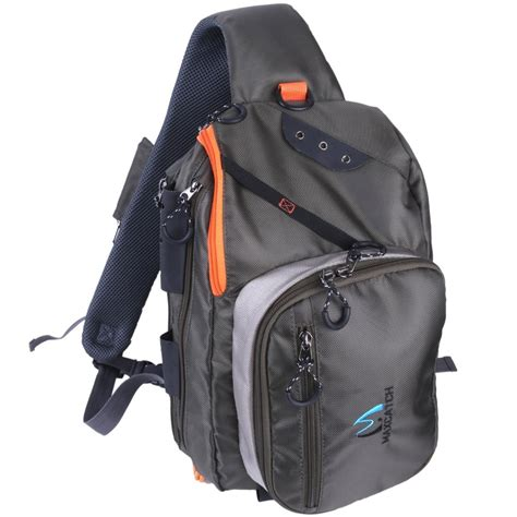 Promo 1 Set Backpack Slingbag Pouch Termurah maximumcatch fly fishing fco sling back pack outdoorsport fishing sling bag with fly patch in