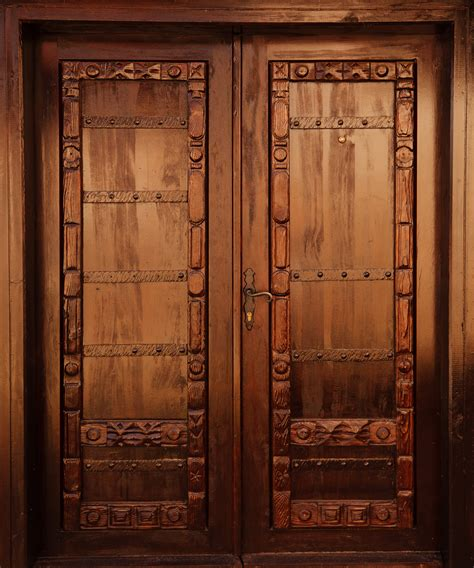 woodworking doors carved wooden door free stock photo domain pictures