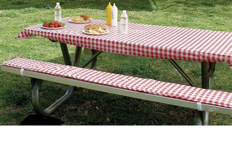 picnic tablecloth and bench covers 25 best ideas about picnic table covers on pinterest picnic theme birthday barnyard