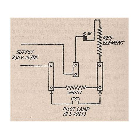 bajaj water heater wiring diagram circuit and schematics