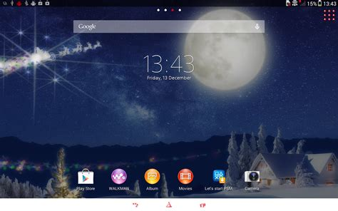 themes christmas for mobile xperia themes on tablet z christmas gizmo bolt