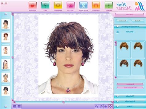 hair color changer simulator hairstyle editor free hairstyles by unixcode