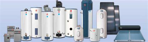 water heaters rci plumbing general contractors
