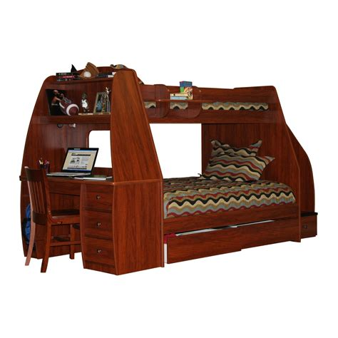 youth bed with desk bunk bed with desk for your kids homesfeed
