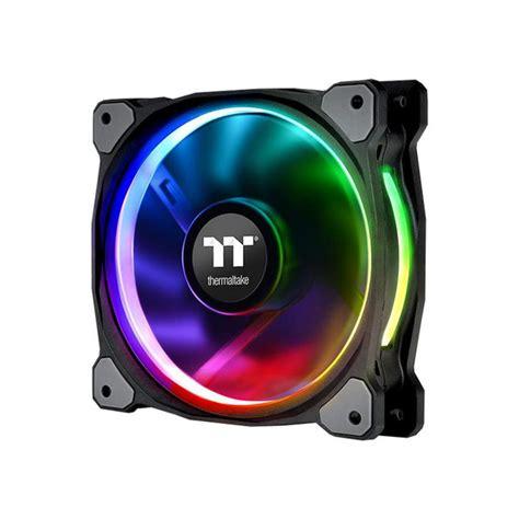 Thermaltake Riing 12 Rgb Radiator Fan Tt Premium 3pack thermaltake fan riing plus 12 led rgb radiator fan tt