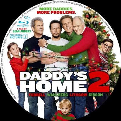 new movies releases daddys home 2 by will ferrell and mark wahlberg daddy s home 2 dvd covers labels by covercity