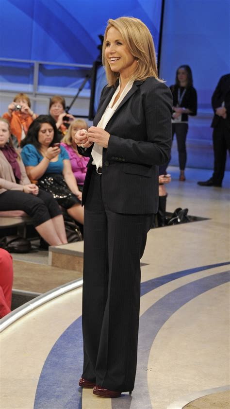 katie couric favorite things katie couric wears a tucker blouse and a j crew suit for