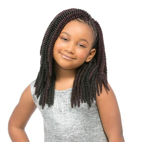 crochet braids for kids sensationnel synthetic crochet braiding hair kids sassy 12