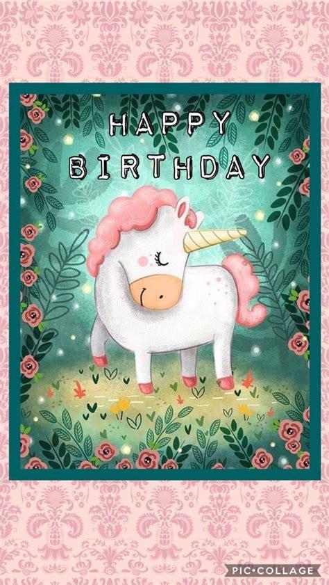 unicorn happy birthday pictures   images  facebook tumblr pinterest  twitter