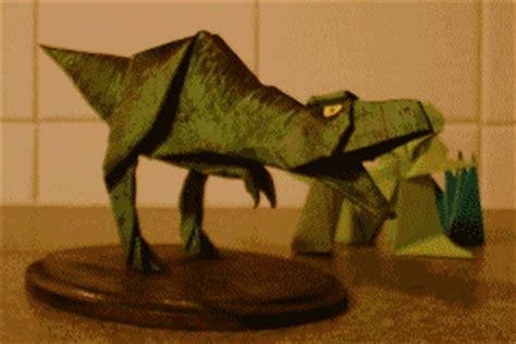 Origami Allosaurus - the origami page
