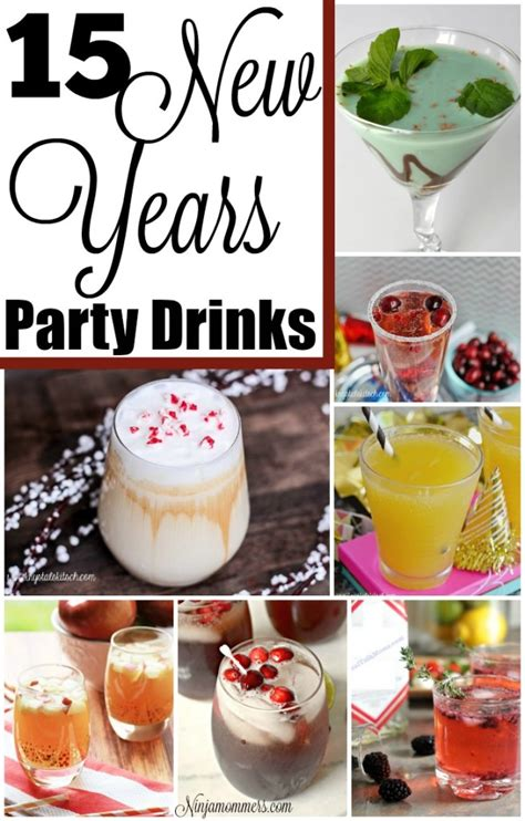 what to drink new years 15 new years drinks to serve at your