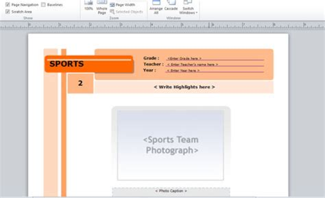 Yearbook Template For Microsoft Publisher Publisher Yearbook Template