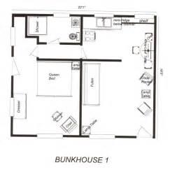 Bunkhouse Floor Plans Located In Woodland Park Colorado Near Colorado Springs