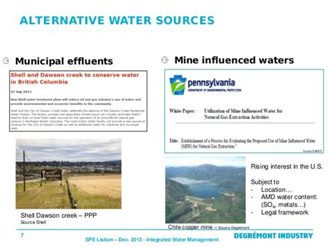 7 Alternatives To Water At The by En Alternative Use Of Water In The Upstream And