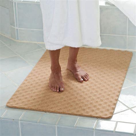 cork mats for bathrooms natural cork bath mat the green head