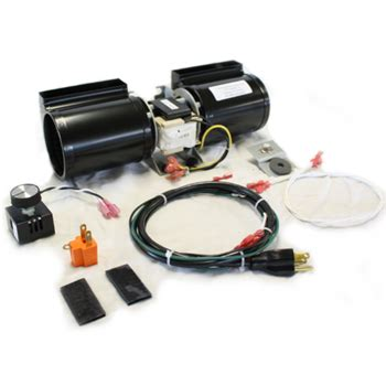 gas fireplace fan kit fab 1600 fireplace blower fan kit for lennox and superior