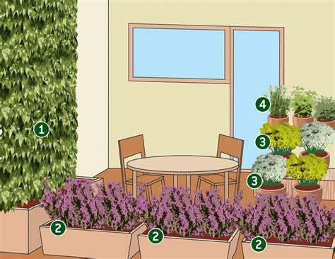 progettare un balcone fiorito progettare il terrazzo autunnale con fiori e piante