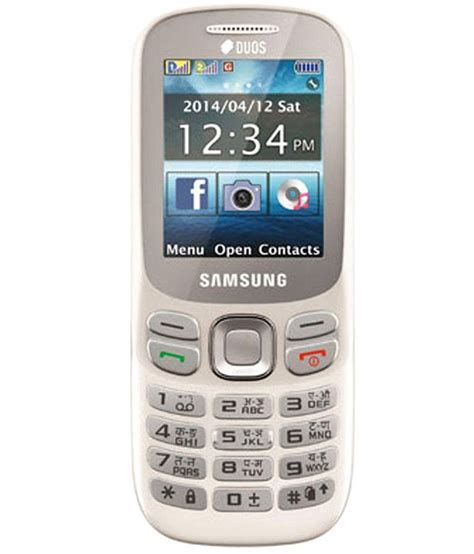 samsung sm b313ezwdins white sm b313ezwdins smb313ezwdins available at snapdeal for rs 3499