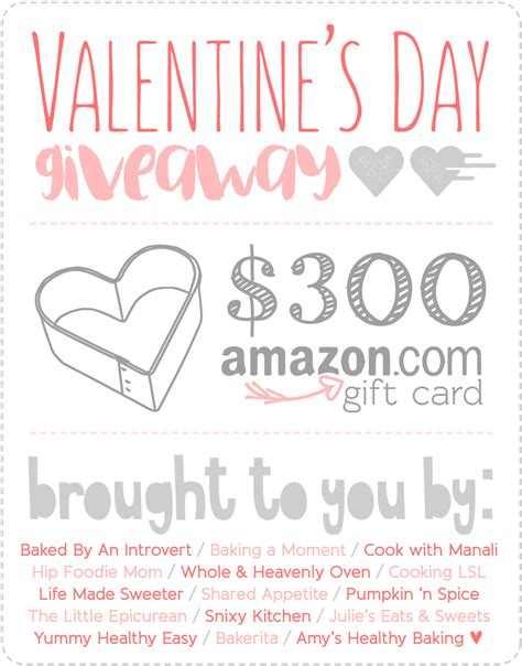Giveaways Hosted By Amazon - amazon gift card giveaway amy s healthy baking