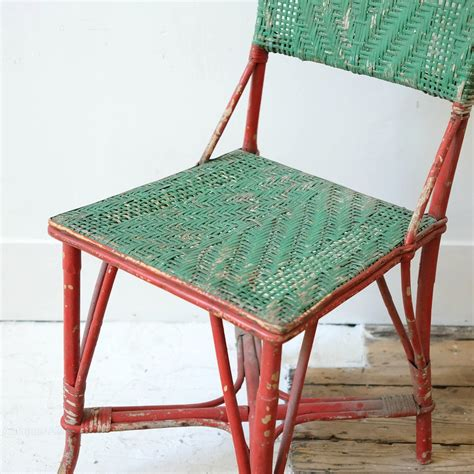 painting wicker chairs uk painted wicker chair antiques atlas