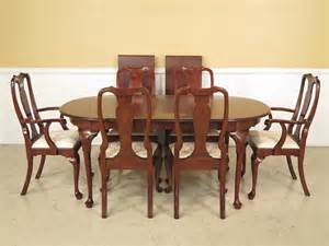 Henkel Harris Dining Room Table 37725 37726e Henkel Harris Solid Cherry Queen By