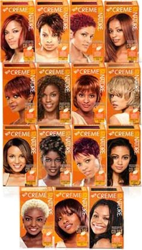 creme of nature hair color chart hair color team on hair