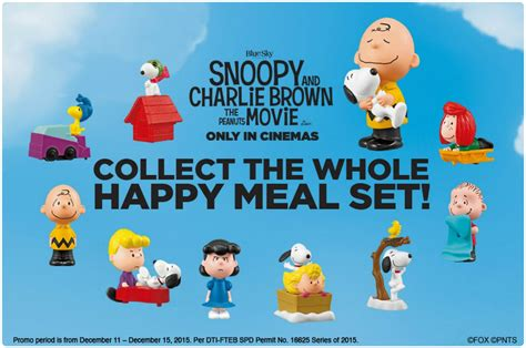 Happy Meal Snoopy Peanut Periode I foodist mcdonald s happy meal snoopy and