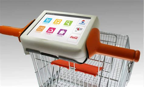 Smart Phone Smart Shopping by Digital Shopping Cart Tablet On Behance