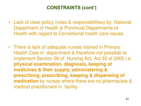 section 56 mental health act ppt department of correctional services overview of