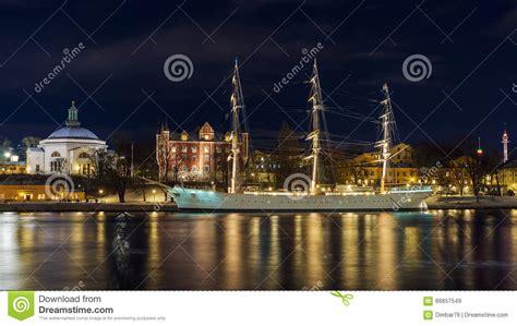 sailboat at night sailboat at night stock photography cartoondealer