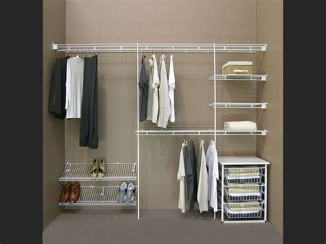 Closetmaid Closet by Closet Shelving Minimalist Dressing Room With