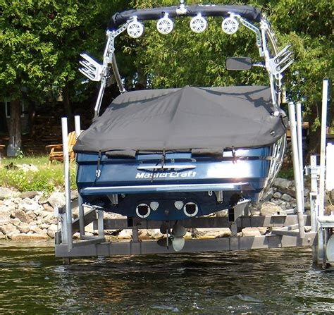 boat lift guides vertical boat lift features dockmaster