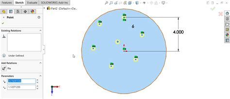 solidworks sketch pattern edit solidworks hole wizard with circular sketch pattern