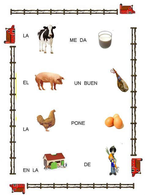 imagenes de animales y sus derivados imagenes animales de la granja
