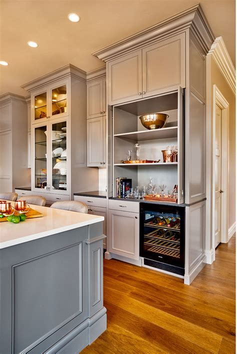 kitchen bar cabinet beautiful family home with traditional interiors home