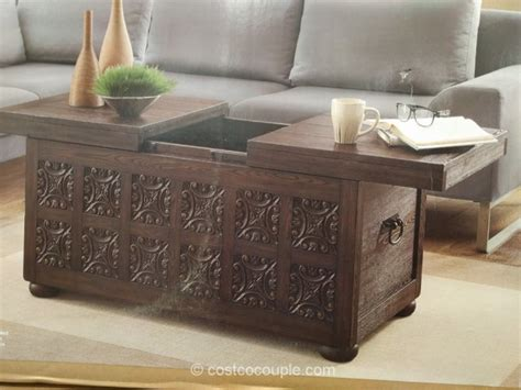 Bayside Furnishings Storage Coffee Table Costco Coffee Table