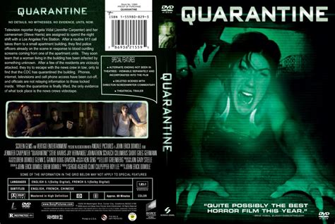 what is the film quarantine about quarantine movie dvd custom covers quarantine 2008 1