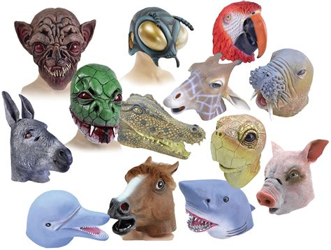 Masker Animal animal masks for adults