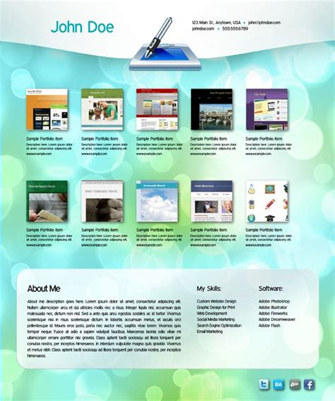 Interactive Portfolio Free Indesign Template Pdf Digital Media Pinterest Indesign Interactive Pdf Templates Indesign