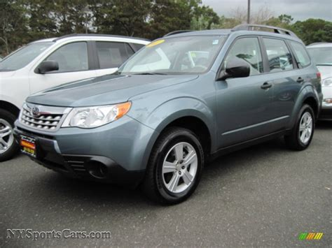 subaru sage green 2011 subaru forester 2 5 x in sage green metallic 701440