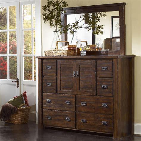 progressive trestlewood bedroom set progressive furniture trestlewood dresser w landscape