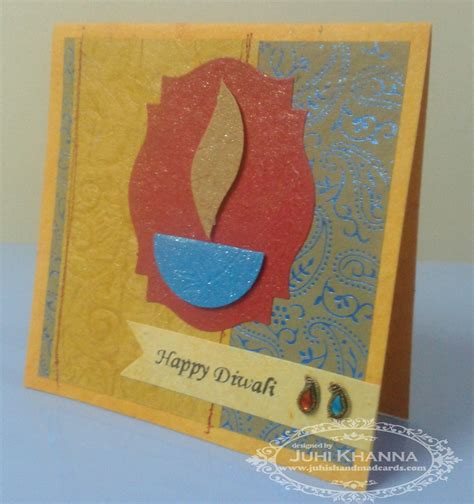 Diwali Handmade Cards - handmade card new calendar template site