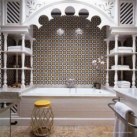 moroccan themed bathroom arabesque bathroom for the home pinterest