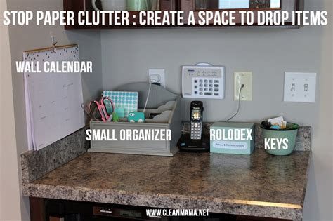 cleaning clutter simple solutions to eliminate paper clutter clean mama