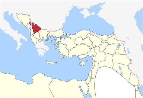 division of ottoman empire kosovo vilayet wikipedia